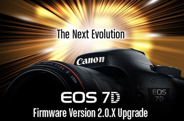 El firmware 2.0.X de la Canon 7D traer infinidad de correcciones en agosto