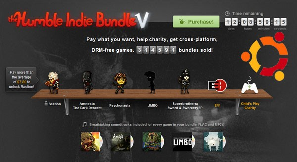 Humble Bundle y Canonical se unen para ofrecer un paquete de juegos compatible con Linux