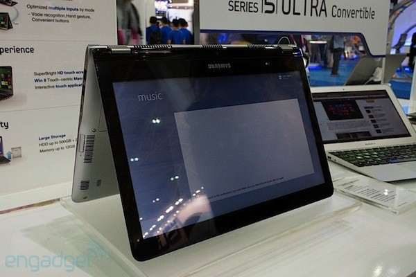 Samsung Series 5 Ultra Convertible, echamos un vistazo al Ultrabook contorsionista (en video!) - Computex 2012