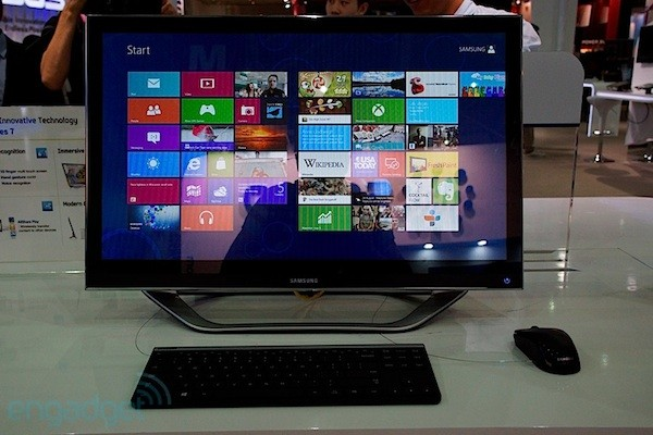 Samsung Series 7 all-in-one PC, conocemos el nuevo todo en uno en Computex 2012 (con vdeo!)