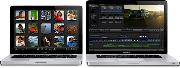 Apple MacBook Pro 2011/2012, comparativa