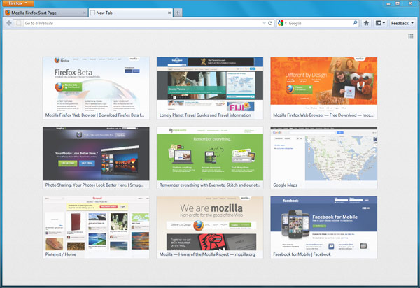 Firefox 13 ya disponible con nueva pgina de inicio y soporte para SPDY