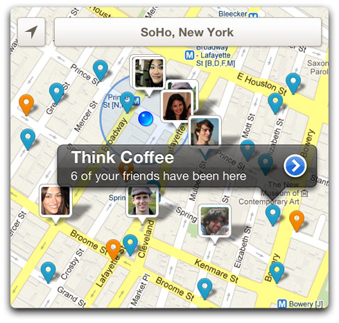 Foursquare insina una gran actualizacin para su aplicacin mvil