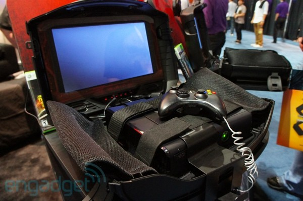 GAEMS G155 Sentry, un vistazo al maletn de viaje para Xbox 360 - E3 2012