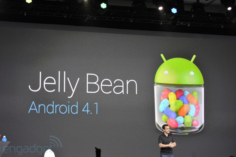 Jelly Bean, Android 4.1 ya es oficial - Google I/O 2012