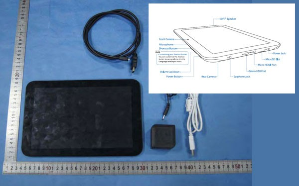 Creative HanZpad, un tablet ICS pillado in fraganti a su paso por FCC
