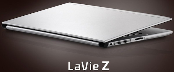 NEC LaVie Z Ultrabook confa su delgadsimo perfil a Ivy Bridge