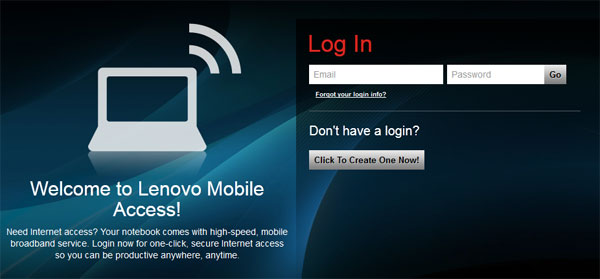 Lenovo Mobile Access proporciona ancho de banda sin necesidad de contratos a los ThinkPad del mundo