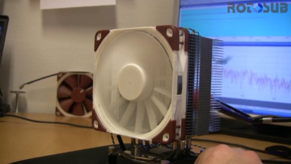 Noctua muestra su ventilador con cancelacin activa de ruido RotoSub - Computex 2012