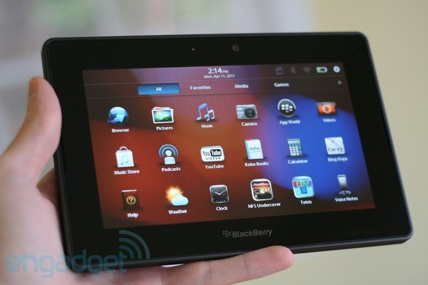 RIM confirma el hachazo al BlackBerry PlayBook de 16 GB