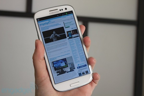 Samsung espera vender alrededor de 10 millones de Galaxy S III para julio