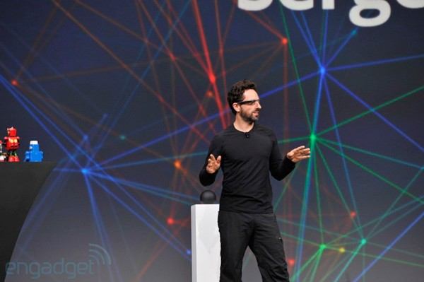 Sergey Brin espera comercializar las Google Glass en 2014 - Google I/O 2012