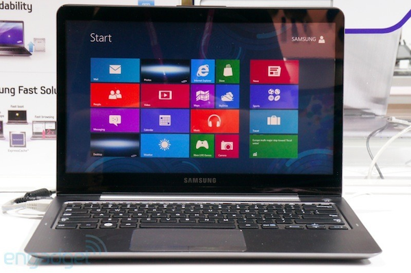Samsung Series 5 Ultra Touch, toqueteamos el nuevo Ultrabook (con video) - Computex 2012