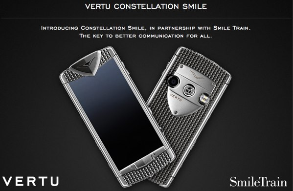 Vertu Constellation Smile deslumbra con su brillo, pero no precisamente por el de su pantalla