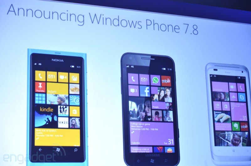 Microsoft presenta Windows Phone 7.8 para terminales ms antiguos y no compatibles con WinPho 8 (Actualizada!)
