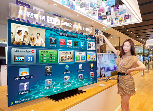 Samsung ES9000, un vistazo a la smart TV coreana de 75 pulgadas