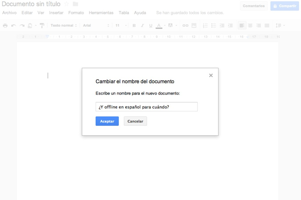 Google implementa algunas novedades en Drive para usuarios de Docs