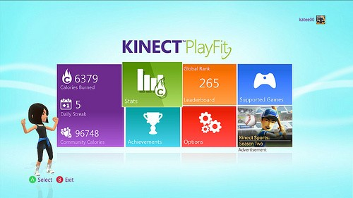 Kinect PlayFit ya disponible para Xbox Live