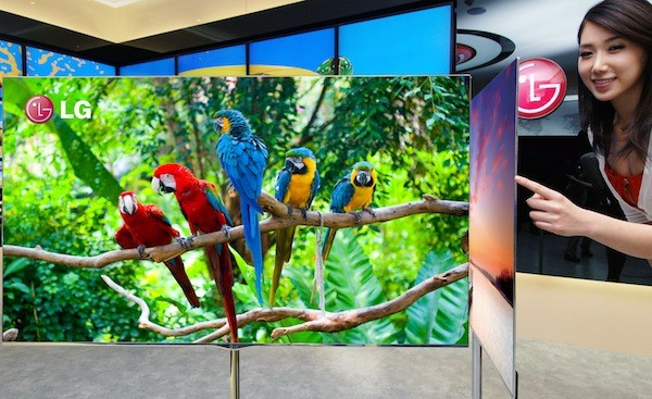 LG desarrollar una pantalla OLED flexible de 60 pulgadas para 2017 por encargo del gobierno coreano