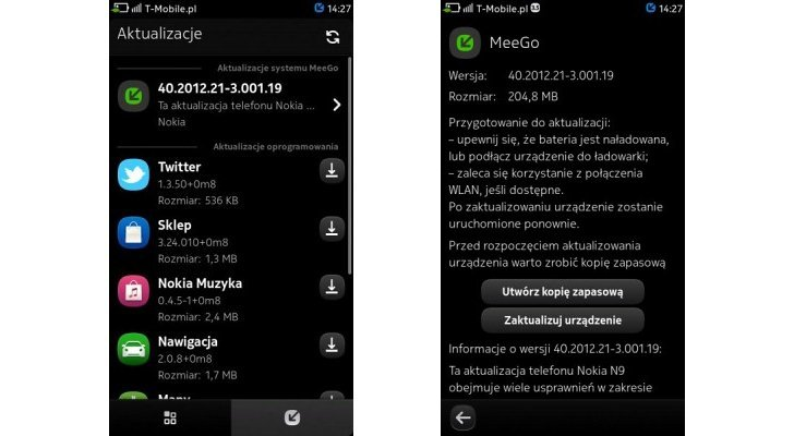 Nokia N9 actualizado a MeeGo PR1.3, con cerca de 1.000 mejoras