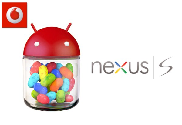Nexus S no recibir Jelly Bean hoy finalmente, segn confirma Vodafone Australia