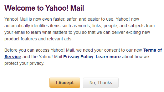Yahoo confirma problemas en sus servicios de e-mail y mensajera
