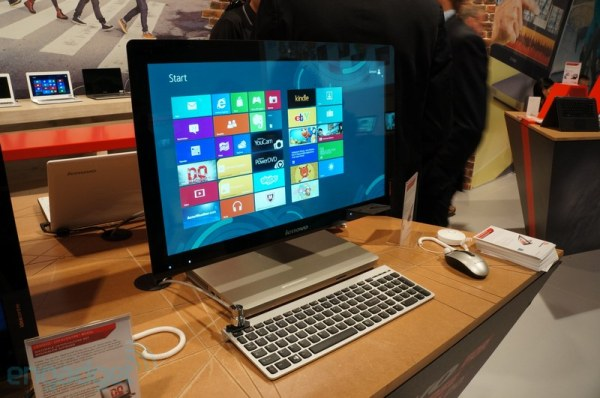  Los Lenovo IdeaCentre A520 y B340/B345 suplican por tus caricias - IFA 2012 