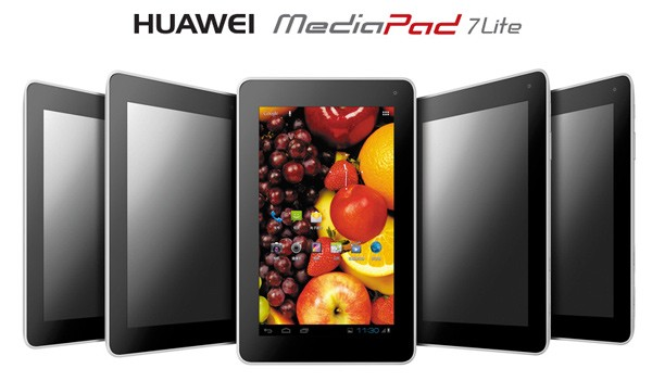 Huawei MediaPad 7 Lite airea por fin su ficha tcnica definitiva - IFA 2012