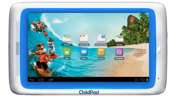 Archos Child Pad ahora con pantalla capacitiva por un precio un poquito mayor