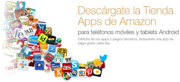 Amazon App Store aterriza en Espaa, Alemania, Reino Unido, Francia e Italia