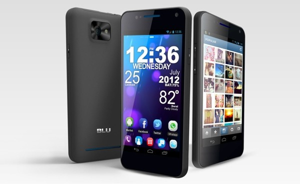 Blu Products anuncia el Vivo 4.3: El primer móvil Super AMOLED Plus con SIM dual
