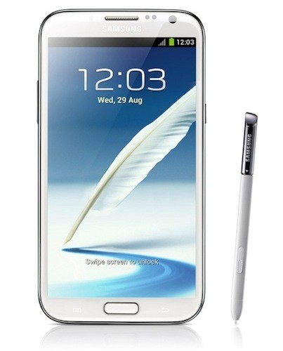 "Samsung Galaxy Note II ya es oficial: 5,5"" HD Super AMOLED, Jelly Bean y más funciones S Pen"