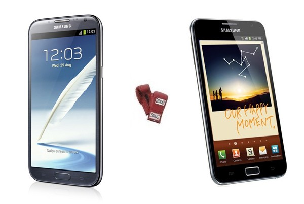 Samsung Galaxy Note II planta cara al modelo original en una tabla comparativa - IFA 2012
