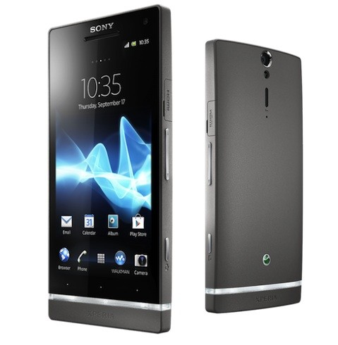 sony xperia S dark silver
