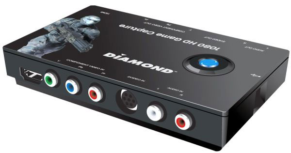Diamond Multimedia presenta el capturador de video GC1000