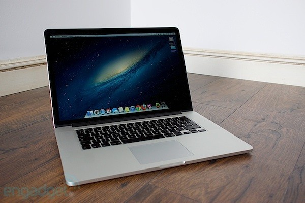 macbook pro con pantalla retina