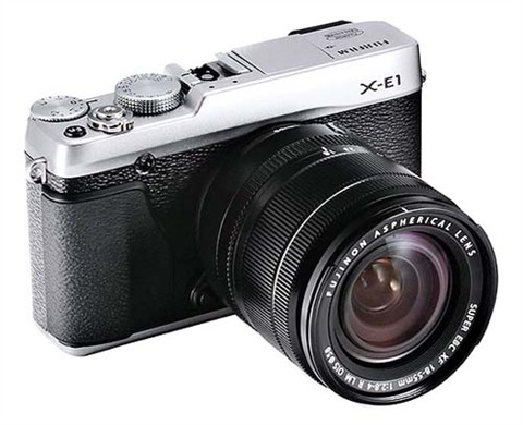 Fujifilm X-E1 pone al descubierto su naturaleza sin espejo antes de tiempo