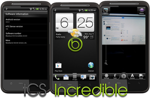 Android 4.0.4 HTC desire hd