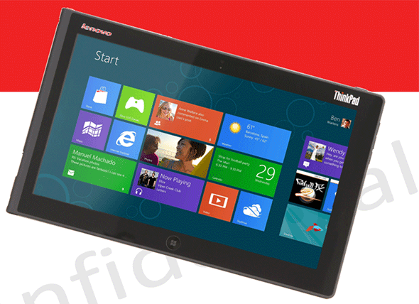 Lenovo Windows 8 ThinkPad Tablet 2 se filtra con todo lujo de detalles