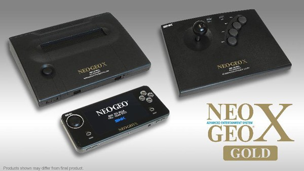 Neo Geo X Gold sale a la venta en diciembre por 200 dlares