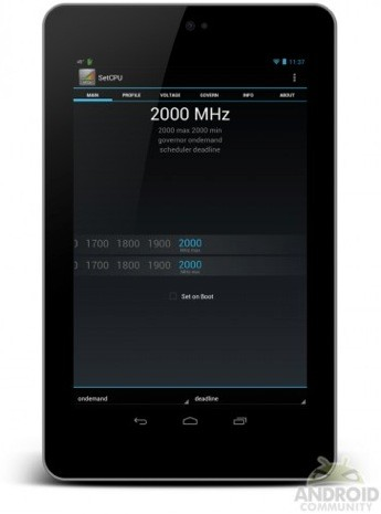 Nexus 7 'overclockeado' a 2 GHz... y sin despeinarse