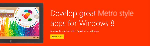Microsoft prohibe el uso del nombre Metro en la Windows Store