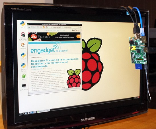 Raspberry Pi Model B analizado