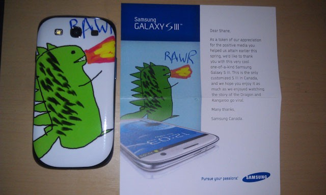 Freemium: Samsung, ese Galaxy S III es taaan especial...