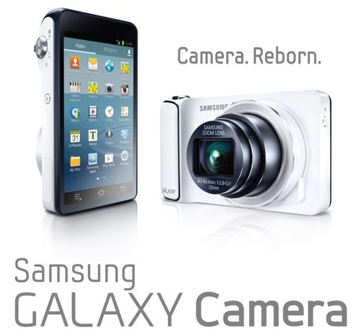 "Samsung Galaxy Camera (EK-GC100) se descubre con Android Jelly Bean, pantalla de 4,8"", zoom 21x, WiFi y 4G - IFA 2012"