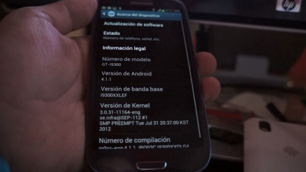 El Samsung Galaxy S III ya saborea su ROM Jelly Bean oficial en la clandestinidad