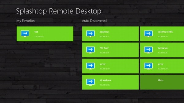 Splashtop Remote Desktop disponible desde ya en Windows 8