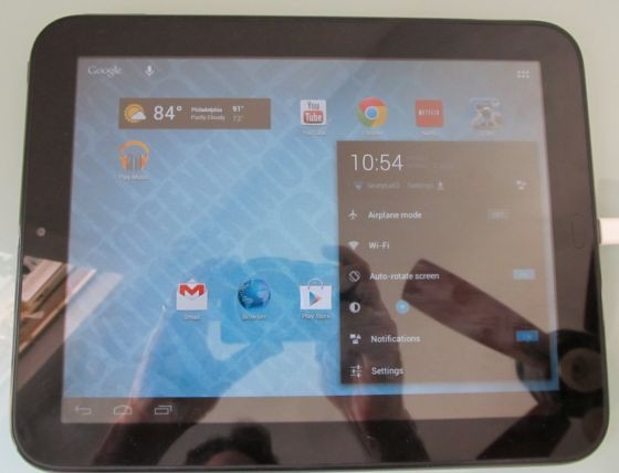 TouchPad prueba las delicias de Android Jelly Bean gracias al CyanogenMod 10