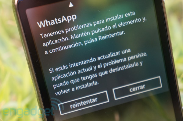 Problemas en la actualizacin de Whatsapp para Windows Phone podra dejar a sus usuarios incomunicados