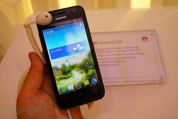 Huawei Ascend G330 se estrena en la IFA 2012 (¡con video!)